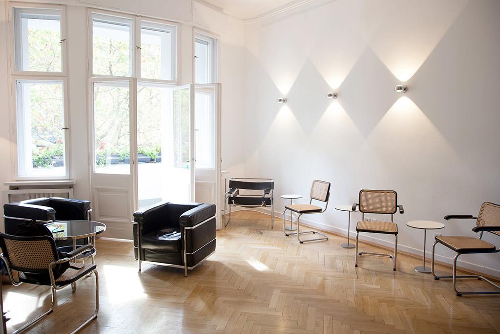 Radiologie Berlin Kudamm Wartebereich